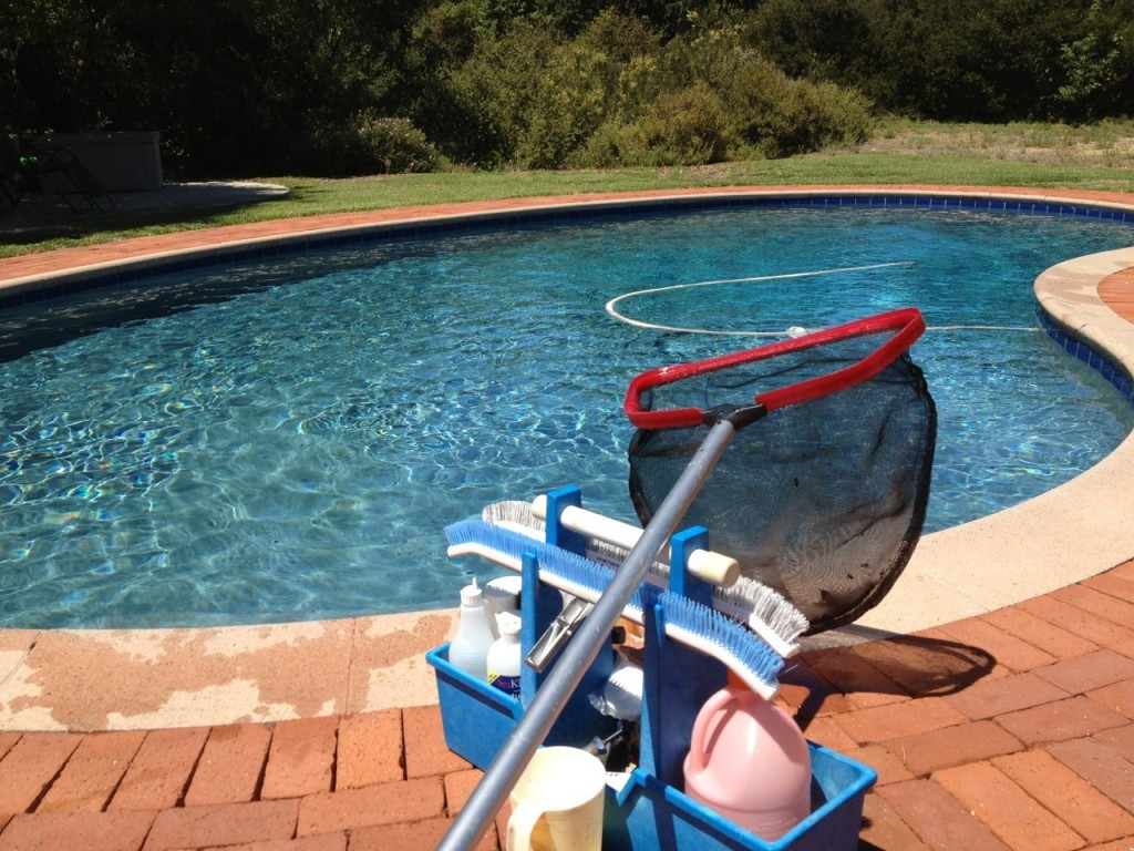 Swimming pool maintenance for beginners.