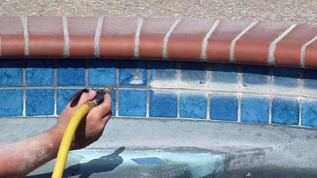 Swimming Pool Tile Cleaning Las Vegas Henderson Las