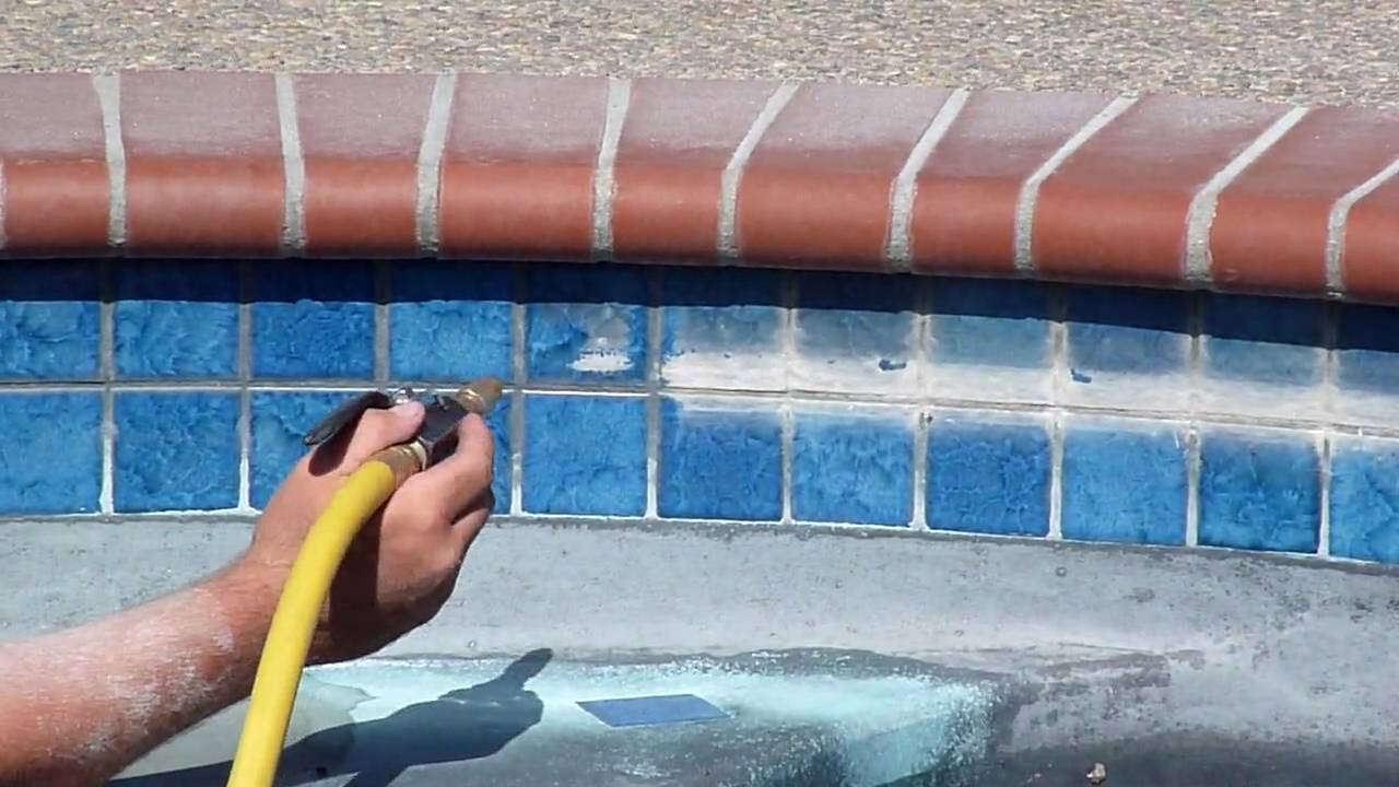 Best Way To Clean Pool Tile Tile Design Ideas